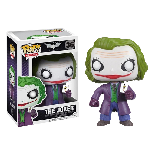 Batman: The Dark Knight - The Joker Pop! Vinyl Figure | Cookie Jar - Home of the Coolest Gifts, Toys & Collectables