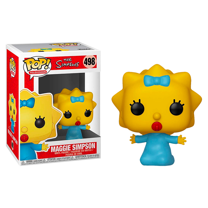The Simpsons - Maggie Pop! Vinyl Figure | Cookie Jar - Home of the Coolest Gifts, Toys & Collectables
