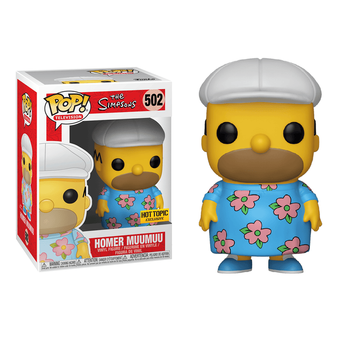 The Simpsons - Homer in Muumuu Pop! Vinyl Figure | Cookie Jar - Home of the Coolest Gifts, Toys & Collectables
