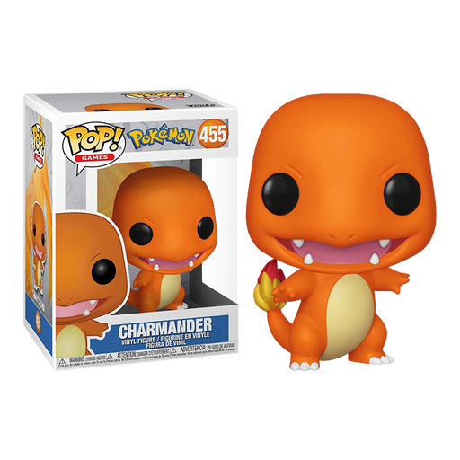 Pokemon - Charmander Pop! Vinyl Figure | Cookie Jar - Home of the Coolest Gifts, Toys & Collectables