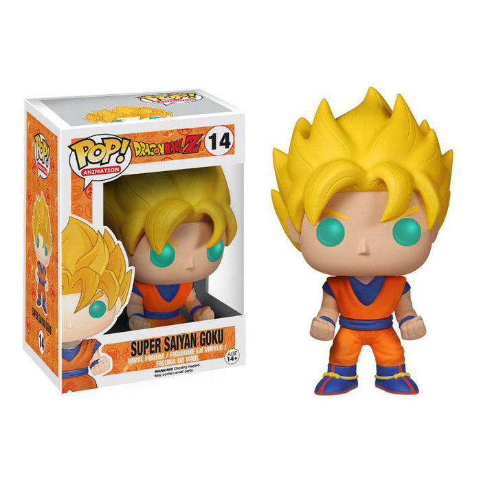 Dragon Ball Z - Super Saiyun Goku Pop! Vinyl Figure | Cookie Jar - Home of the Coolest Gifts, Toys & Collectables