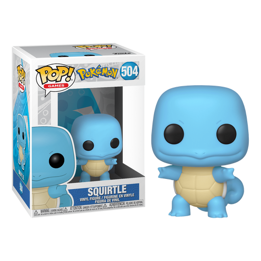 Pokemon - Squirtle Pop! Vinyl Figure | Cookie Jar - Home of the Coolest Gifts, Toys & Collectables
