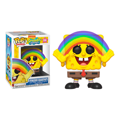Spongebob Rainbow Pop! Vinyl Figure | Cookie Jar - Home of the Coolest Gifts, Toys & Collectables
