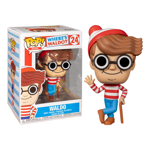 Where's Waldo Pop! Vinyl Figure | Cookie Jar - Home of the Coolest Gifts, Toys & Collectables