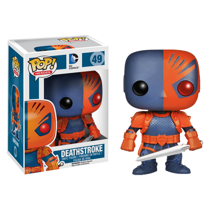 Batman - Deathstroke Pop! Vinyl Figure | Cookie Jar - Home of the Coolest Gifts, Toys & Collectables