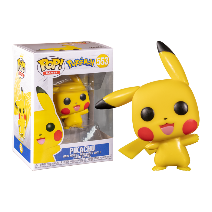 Pokemon - Pikachu Pop! Vinyl Figure | Cookie Jar - Home of the Coolest Gifts, Toys & Collectables