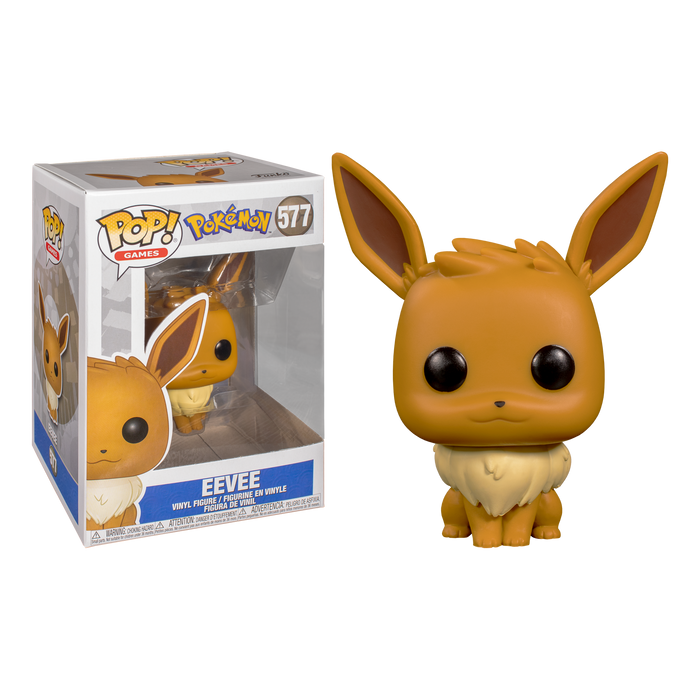 Pokemon - Eevee Pop! Vinyl Figure | Cookie Jar - Home of the Coolest Gifts, Toys & Collectables