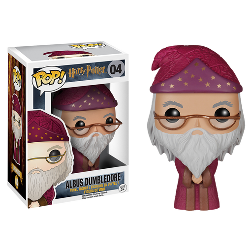 Harry Potter - Albue Dumbledore Pop! Vinyl Figure