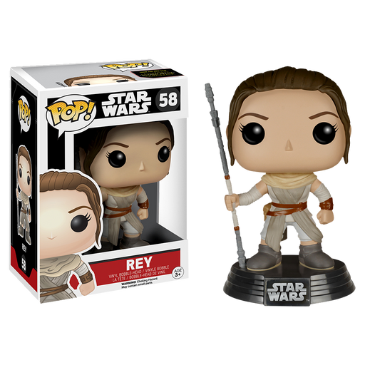 Star Wars - Rey Episode VII The Force Awakens Pop! Vinyl Figure | Cookie Jar - Home of the Coolest Gifts, Toys & Collectables