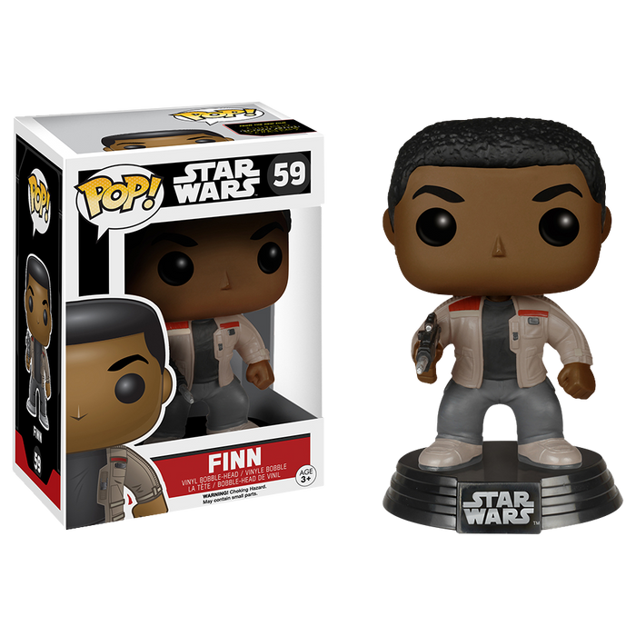 Star Wars - Finn Episode VII The Force Awakens Pop! Vinyl Figure | Cookie Jar - Home of the Coolest Gifts, Toys & Collectables