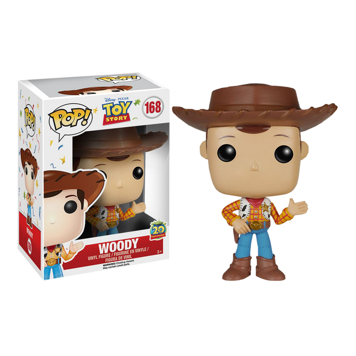 Toy Story - Woody Pop! Vinyl Figure (20th Anniversary Edition) | Cookie Jar - Home of the Coolest Gifts, Toys & Collectables