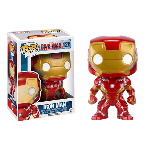 Captain America 3: Civil War - Iron Man Pop! Vinyl Figure | Cookie Jar - Home of the Coolest Gifts, Toys & Collectables