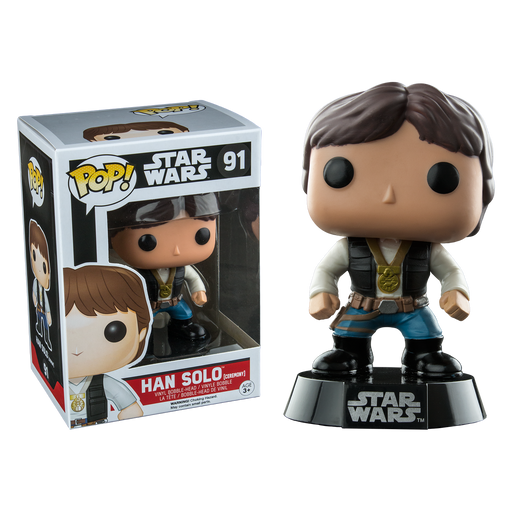Star Wars - Han Solo Ceremony US Exclusive Pop! Vinyl Figure | Cookie Jar - Home of the Coolest Gifts, Toys & Collectables