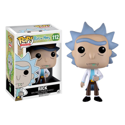 Rick & Morty - Rick Pop! Vinyl Figure | Cookie Jar - Home of the Coolest Gifts, Toys & Collectables