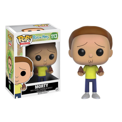 Rick & Morty - Morty Pop! Vinyl Figure | Cookie Jar - Home of the Coolest Gifts, Toys & Collectables