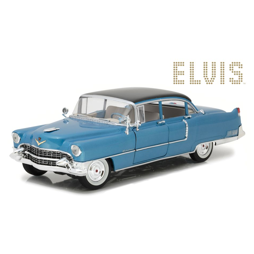 1:18 Scale Elvis Presley Blue 1955 Cadillac Fleetwood Series 60 Diecast Model | Cookie Jar - Home of the Coolest Gifts, Toys & Collectables