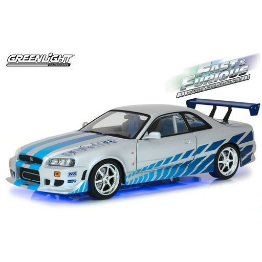 1:18 Scale Fast & Furious 1999 Nissan Skyline GT-R (R34) Diecast Model | Cookie Jar - Home of the Coolest Gifts, Toys & Collectables