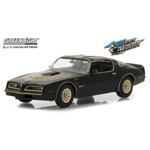 1:43 Scale Smokey & The Bandit 1977 Pontiac Firebird Trans Am Diecast Model | Cookie Jar - Home of the Coolest Gifts, Toys & Collectables