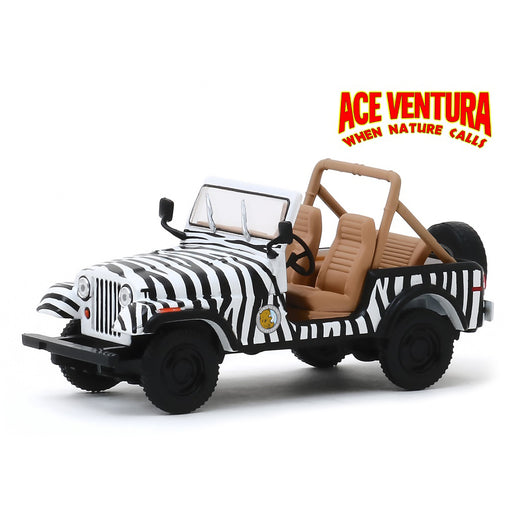 1:43 Scale Ace Ventura 'When Nature Calls' - 1976 Jeep CJ-7 Diecast Model | Cookie Jar - Home of the Coolest Gifts, Toys & Collectables