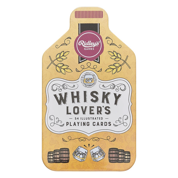 Ridley's Whisky Lovers Playing Cards