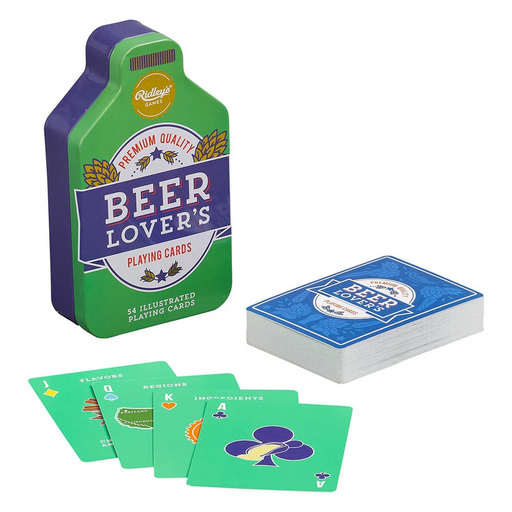 Ridley's Beer Lovers Playing Cards