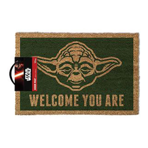 Star Wars - Yoda Welcome You Are Doormat | Cookie Jar - Home of the Coolest Gifts, Toys & Collectables