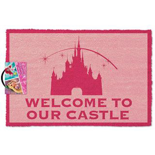 Disney Princess - Welcome To Our Castle Doormat | Cookie Jar - Home of the Coolest Gifts, Toys & Collectables