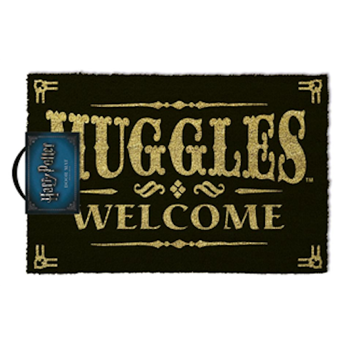 Harry Potter - Muggles Welcome Doormat
