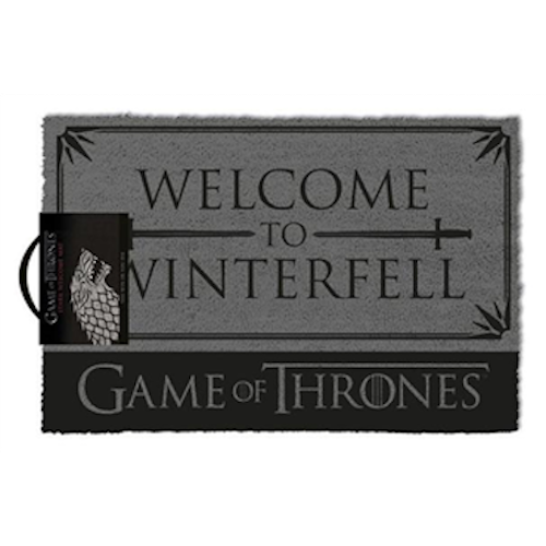 Game Of Thrones - Welcome To Winterfell Doormat | Cookie Jar - Home of the Coolest Gifts, Toys & Collectables