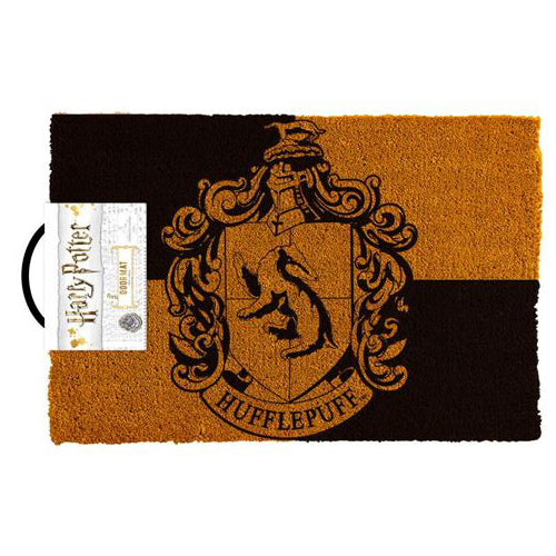 Harry Potter - Hufflepuff Crest Doormat | Cookie Jar - Home of the Coolest Gifts, Toys & Collectables