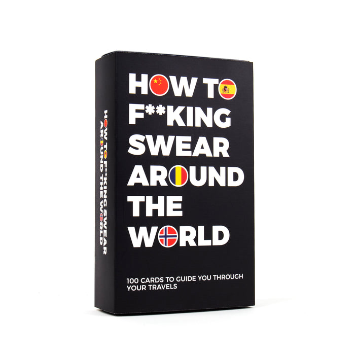 How to F*cking Swear Around the World Cards