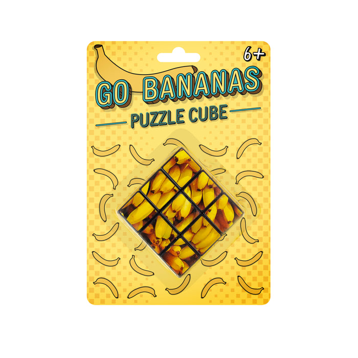Drive You Bananas - Puzzle Cube
