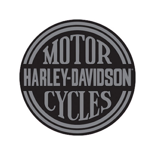 Harley Davidson Platinum Disc Round Die Cut Embossed Tin Sign | Cookie Jar - Home of the Coolest Gifts, Toys & Collectables
