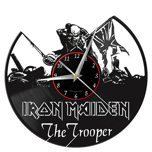 Iron Maiden Vinyl Wall Clock | Cookie Jar - Home of the Coolest Gifts, Toys & Collectables
