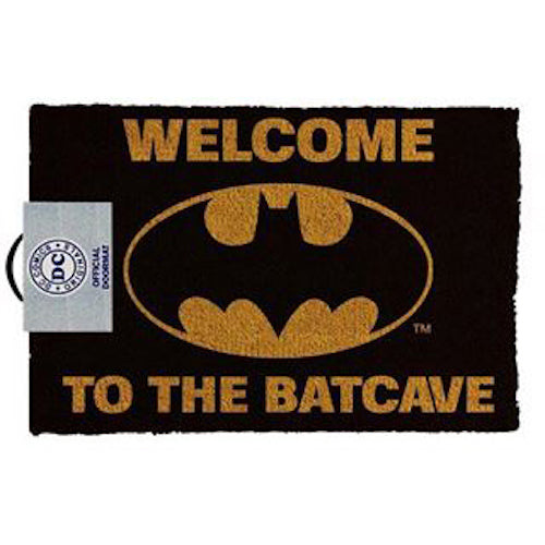 DC Comics - Batman Welcome To The Batcave Doormat | Cookie Jar - Home of the Coolest Gifts, Toys & Collectables