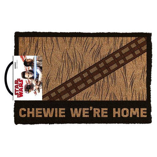 Star Wars Classic - Chewie We're Home Doormat | Cookie Jar - Home of the Coolest Gifts, Toys & Collectables