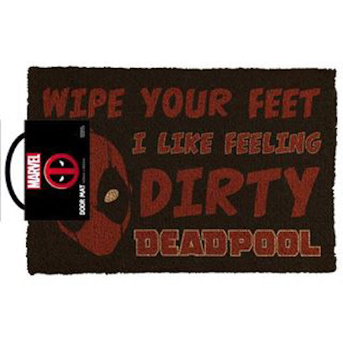 Marvel - Deadpool I Like Feeling Dirty Doormat