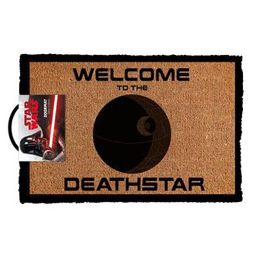 Star Wars - Welcome To The Deathstar Doormat | Cookie Jar - Home of the Coolest Gifts, Toys & Collectables