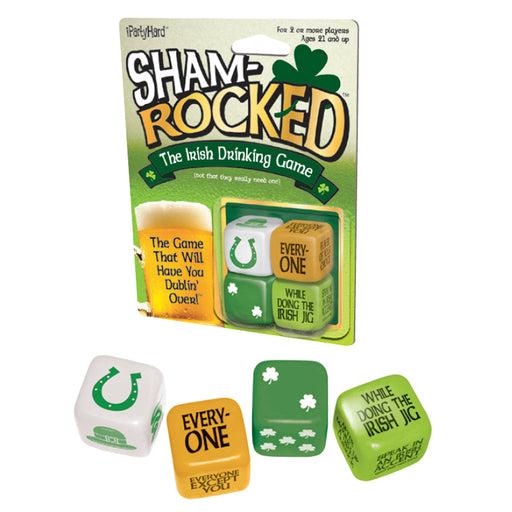 iPartyHard - Shamrocked Dice Game | Cookie Jar - Home of the Coolest Gifts, Toys & Collectables