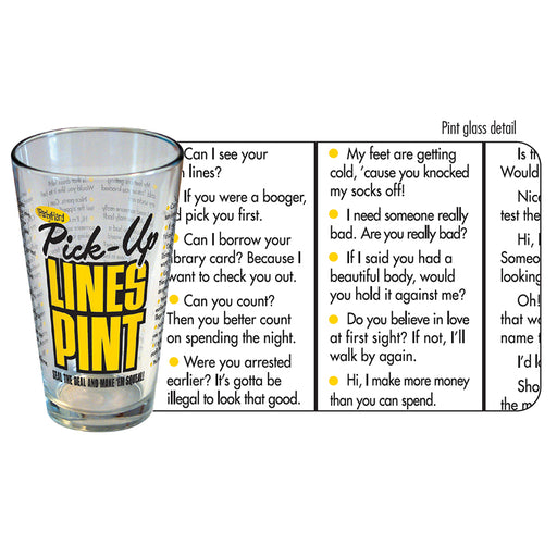 iPartyHard - Pick-Up Lines Pint | Cookie Jar - Home of the Coolest Gifts, Toys & Collectables