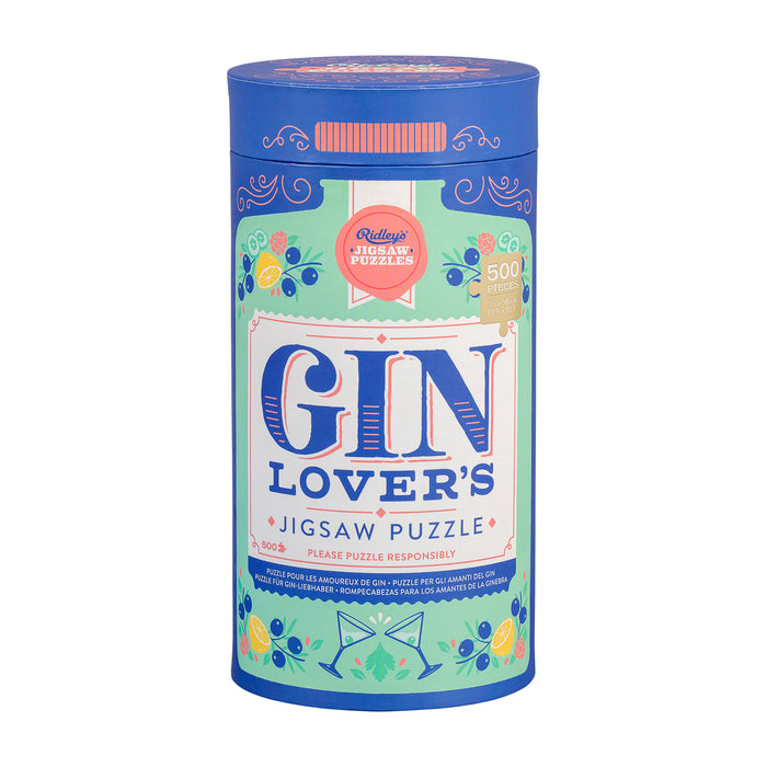 Ridley's Gin lovers 500pc Puzzle | Cookie Jar - Home of the Coolest Gifts, Toys & Collectables