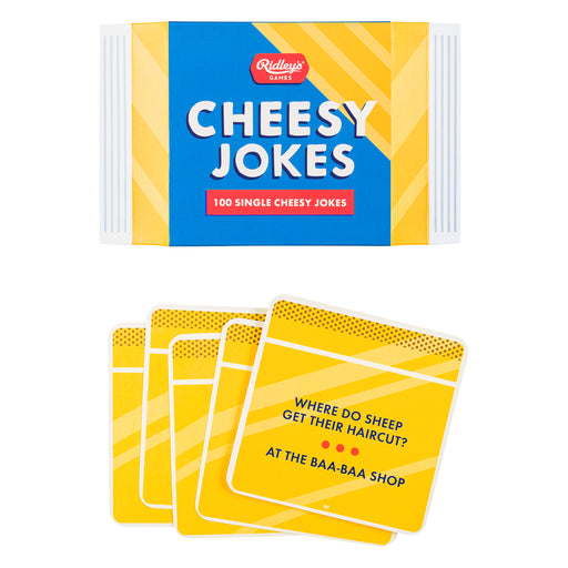 Ridley's 100 Cheesy Jokes | Cookie Jar - Home of the Coolest Gifts, Toys & Collectables