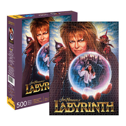 Labyrinth 500pc Puzzle | Cookie Jar - Home of the Coolest Gifts, Toys & Collectables