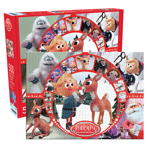 Rudolph Collage 500pc Puzzle | Cookie Jar - Home of the Coolest Gifts, Toys & Collectables