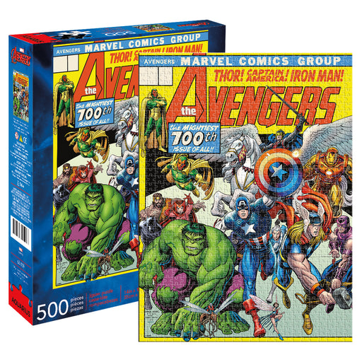 Marvel - Avengers Cover 500pc Puzzle | Cookie Jar - Home of the Coolest Gifts, Toys & Collectables