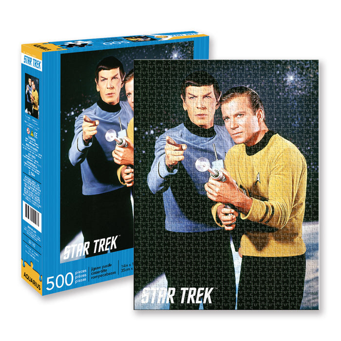 Star Trek - Spock & Kirk 500pc Puzzle