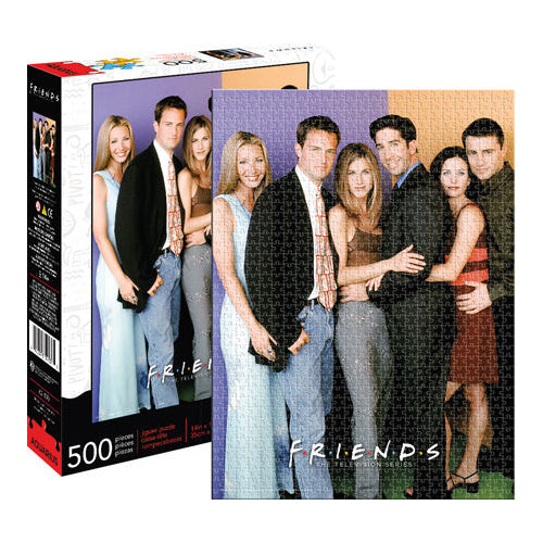 Friends - Cast 500pc Puzzle | Cookie Jar - Home of the Coolest Gifts, Toys & Collectables