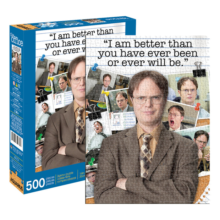 The Office - Dwight Schrute Quote 500pc Puzzle