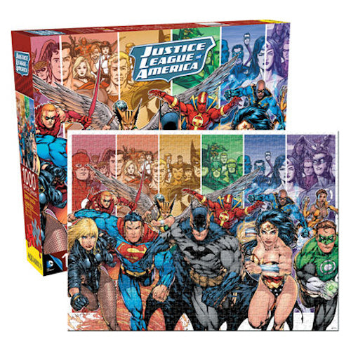 DC Comics - Justice League 1000pc Puzzle | Cookie Jar - Home of the Coolest Gifts, Toys & Collectables