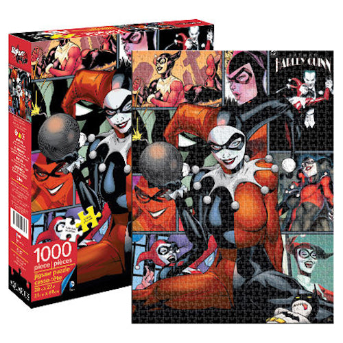 DC Comics - Harley Quinn 1000pc Puzzle | Cookie Jar - Home of the Coolest Gifts, Toys & Collectables